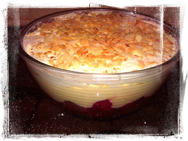 Trifle From Leftover Cake